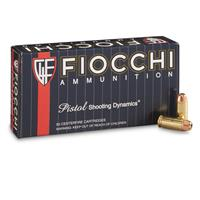 Fiocchi, Shooting Dynamics, .40 S&W, JHP, 180 Grain, 50 Rounds