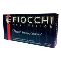 Fiocchi Shooting Dynamics, .44 Mag, SJHP, 200 Grain, 50 Rounds