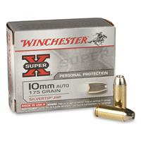 Winchester® Super-X® Handgun 10mm Auto 175 Grain STHP 20 rounds