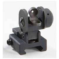 AR-15 / M16 Flip-up Dual Aperture Rear Sight for Picatinny® Rail