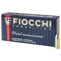 Fiocchi, 9mm Luger, FMJ, 147 Grain, 250 Rounds