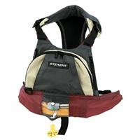 Stearns Paddlesport Manually Inflatable Chest Pack, Charcoal