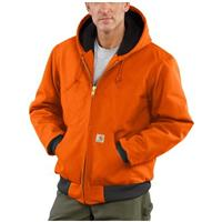 Carhartt® Quilted Flannel Lined Duck Active Jacket, Blaze