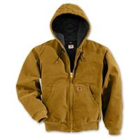 Regular Carhartt Quilted Flannel Lined Sandstone Active Jacket, Brown
