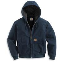 Regular Carhartt Quilted Flannel Lined Sandstone Active Jacket, Midnight