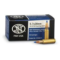FNH USA, 5.7x28mm, V-Max, 40 Grain, 50 Rounds