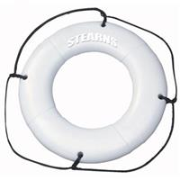 "Stearns® Type IV 24"" Ring Buoy, White"