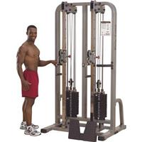 Body-Solid Dual Cable Column Exercise System