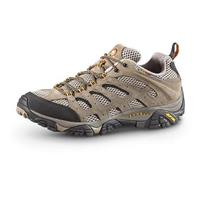 Merrell Men's Moab Ventilator Low Hiking Shoes, Walnut