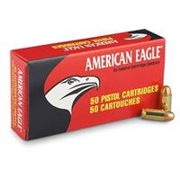 Federal American Eagle Pistol, .45 ACP, FMJ, 230 Grain, 50 Rounds