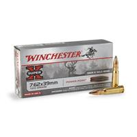 Winchester® Super-X® Rifle 7.62x39mm 123 Grain SP 20 rounds
