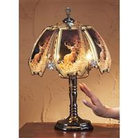 Whitetail Deer Touch Lamp