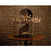 The Appalachian Antler Chandelier
