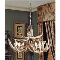 The Teton Antler Chandelier