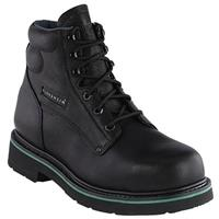 "Men's Florsheim 6"" Steel Toe Classic Boot, Black"