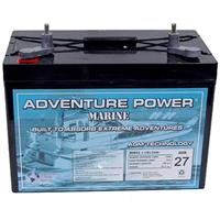 Universal Power Group 12V Group 27 90-amp Sealed Lead Acid Marine Battery