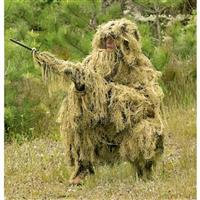 3D Ghillie Suit, 5 Piece Set, Desert Camo