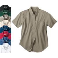 Women's River's End Short Sleeve Corporate Casual Twill Shirt