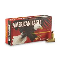 Federal American Eagle Pistol, 10mm, FMJ, 180 Grain, 1,000 Rounds