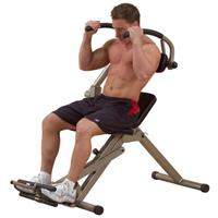 Body Solid Best Fitness Semi-Recumbent AB Bench