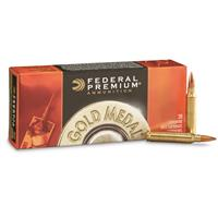 Federal Premium Gold Medal Match King, .223 Rem, MKS, BTHP, 69 Grain, 20 Rounds