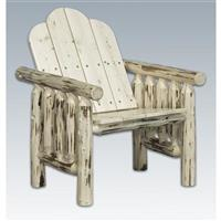 Montana Woodworks Log Deck Chair