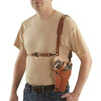 Military-Style Shoulder Holster, 1911A1 .45/ Beretta 92F 9mm, Right Hand thumbnail
