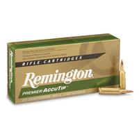 Remington Premier, .17 Remington Fireball, AccuTip, 20 Grain, 20 Rounds
