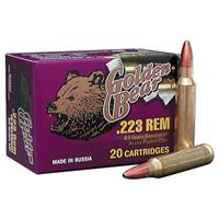 Golden Bear, .223 Remington, HP, 62 Grain, 20 Rounds