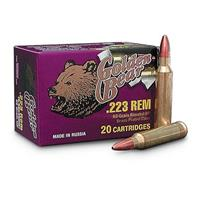 Golden Bear, .223 Rem., HP, 62 Grain, 240 Rounds