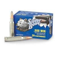Silver Bear, .308 Winchester, SP, 140 Grain, 120 Rounds