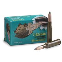 Brown Bear, 7.62x54R, SP, 203 Grain, 120 Rounds
