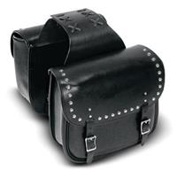 Carroll Heavy-Duty Small Slant Saddlebags