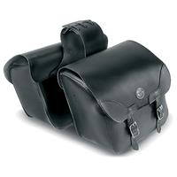 Carroll Heavy Duty Throw Over Saddlebags with V-twin Concho