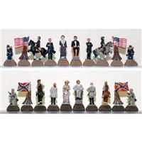 CHH Quality Products, Inc. Civil War Chessmen