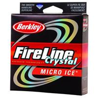 Berkley® Fireline Micro Ice Pony Spool, Crystal
