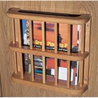 Camco® Solid Oak Magazine Rack