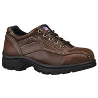 Women's Thorogood® Steel Toe Oxfords, Root Beer