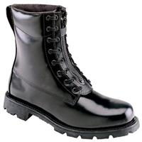 "Men's Thorogood® 8"" Front Zip Oblique Toe Station Combat Boots"