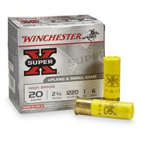 Winchester Super-X High Brass Game Loads 20 Gauge 2 3/4″ 1 ozs. 25 rounds