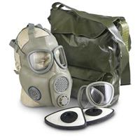 Czech Military Surplus M10M Gas Mask with Filter, New