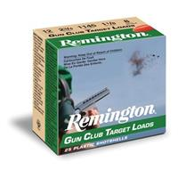 "Remington Gun Club Target Loads, 12 Gauge, 2 3/4"" 1 1/8 oz., 25 Rounds"