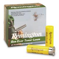 "Remington, Gun Club Target Loads, 20 Gauge, 2 3/4"" 7/8 oz., 25 Rounds"