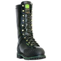 "Men's John Deere® 12"" Safety Toe Waterproof Miner's Boot"