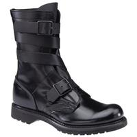 "Men's Corcoran® 10"" Leather Military Tanker Boots, Black"