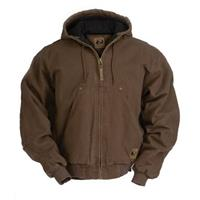 Men's Berne® Original Washed Quilt-lined Hooded Jacket