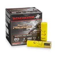 "25 rds. Winchester® 20 Gauge 3"" 1 1/4 oz. Super-X® Super Pheasant Copper Plated Shotshells"