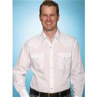 Ely Cattleman® Long Sleeve Solid Western Shirt