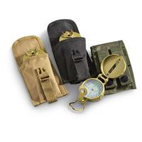 M.O.L.L.E. Accessory Pouch with Lensatic Compass