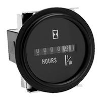 Seachoice® Hour Meter, Black Bezel